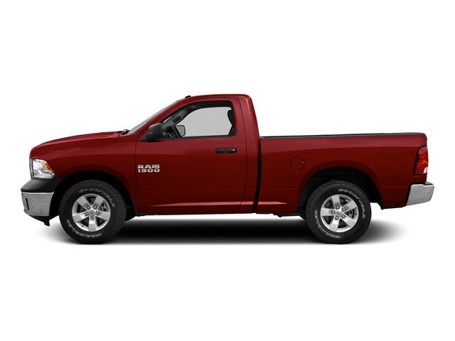 Deep Cherry Red Crystal Pearlcoat 2015 Ram Truck 1500 Pictures 1500 Regular Cab SLT 4WD photos side view