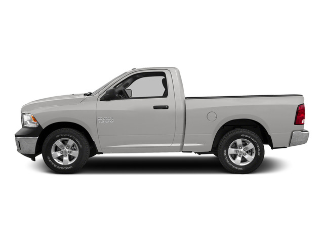 Bright Silver Metallic Clearcoat 2015 Ram Truck 1500 Pictures 1500 Regular Cab SLT 4WD photos side view