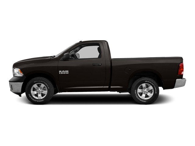 Black Clearcoat 2015 Ram Truck 1500 Pictures 1500 Regular Cab SLT 2WD photos side view