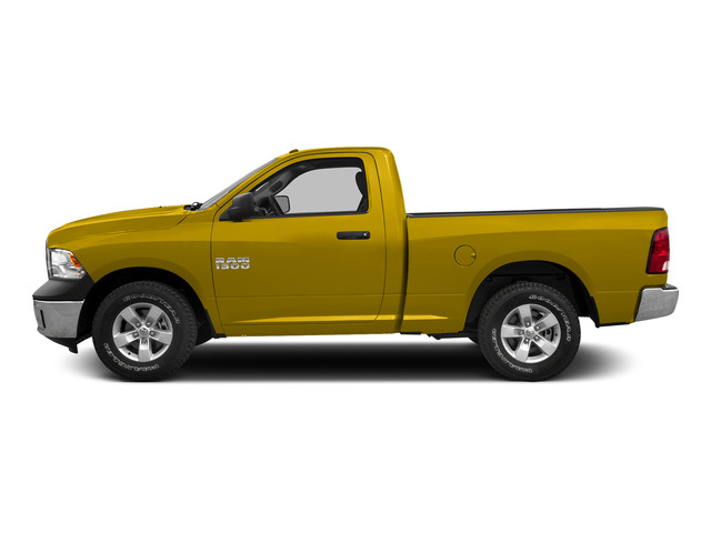 Detonator Yellow Clearcoat 2015 Ram Truck 1500 Pictures 1500 Regular Cab SLT 4WD photos side view