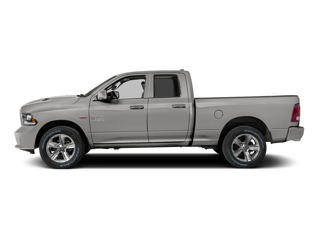 Bright Silver Metallic Clearcoat 2015 Ram Truck 1500 Pictures 1500 Quad Cab Sport 2WD photos side view
