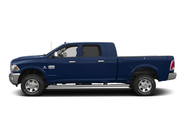 True Blue Pearlcoat 2015 Ram Truck 2500 Pictures 2500 Mega Cab Limited 2WD photos side view