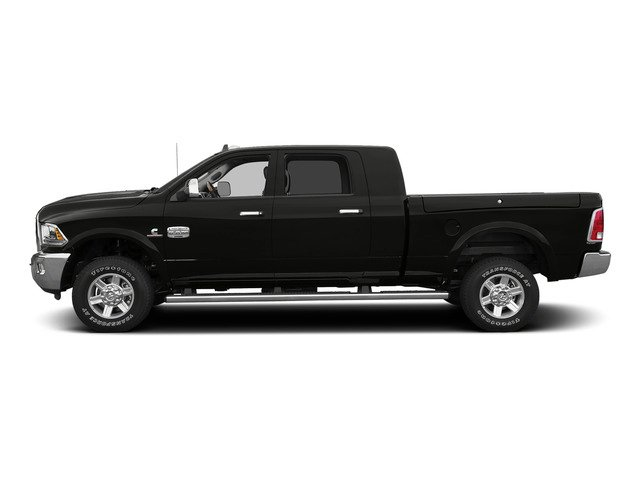 Brilliant Black Crystal Pearlcoat 2015 Ram Truck 2500 Pictures 2500 Mega Cab SLT 2WD photos side view