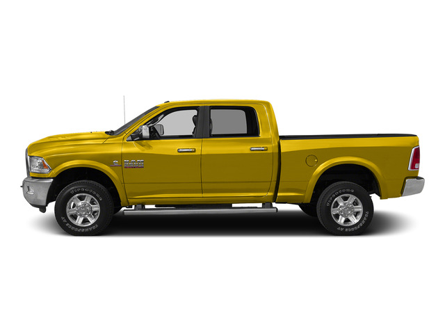 Yellow 2015 Ram Truck 2500 Pictures 2500 Crew Cab SLT 4WD photos side view