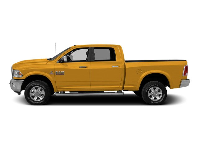 Construction Yellow 2015 Ram Truck 2500 Pictures 2500 Crew Cab SLT 2WD photos side view