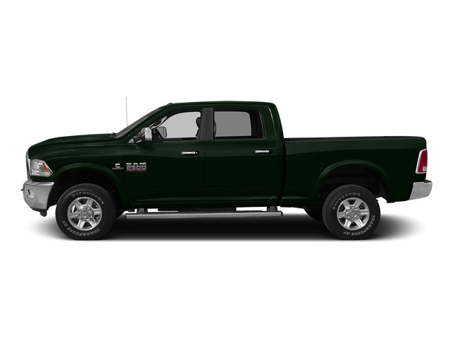Black Forest Green Pearlcoat 2015 Ram Truck 2500 Pictures 2500 Crew Cab SLT 4WD photos side view