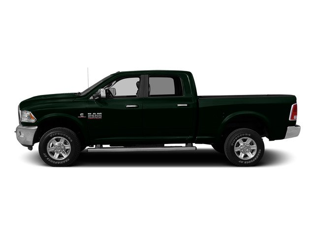 Black Forest Green Pearlcoat 2015 Ram Truck 2500 Pictures 2500 Crew Cab Tradesman 4WD photos side view