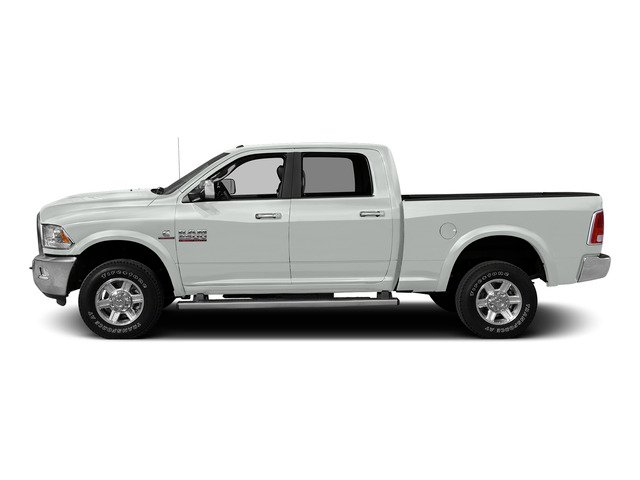 Bright White Clearcoat 2015 Ram Truck 2500 Pictures 2500 Crew Cab SLT 4WD photos side view