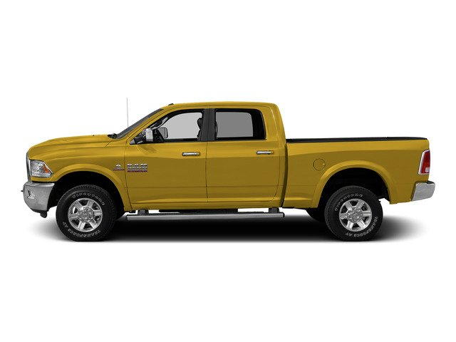 Detonator Yellow Clearcoat 2015 Ram Truck 2500 Pictures 2500 Crew Cab SLT 4WD photos side view