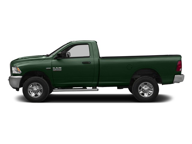 Timberline Green Pearlcoat 2015 Ram Truck 2500 Pictures 2500 Regular Cab SLT 4WD photos side view