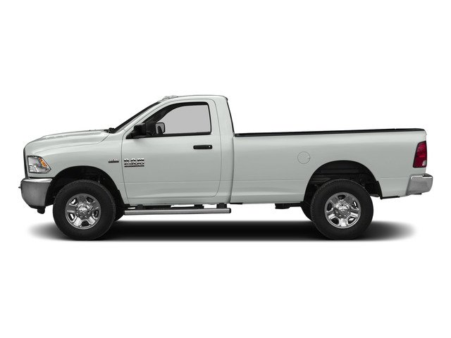 Bright White Clearcoat 2015 Ram Truck 2500 Pictures 2500 Regular Cab SLT 4WD photos side view