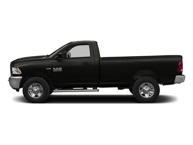 Brilliant Black Crystal Pearlcoat 2015 Ram Truck 2500 Pictures 2500 Regular Cab SLT 4WD photos side view