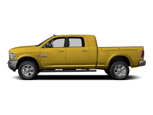 Yellow 2015 Ram Truck 3500 Pictures 3500 Mega Cab SLT 4WD photos side view