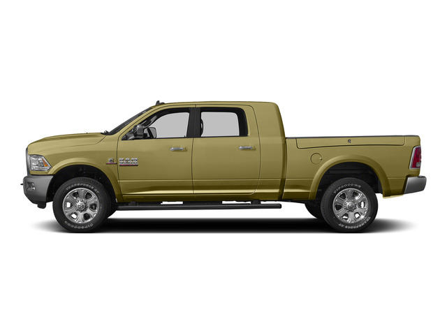 Light Cream 2015 Ram Truck 3500 Pictures 3500 Mega Cab SLT 4WD photos side view