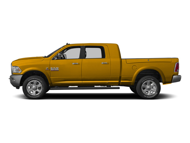Construction Yellow 2015 Ram Truck 3500 Pictures 3500 Mega Cab SLT 2WD photos side view