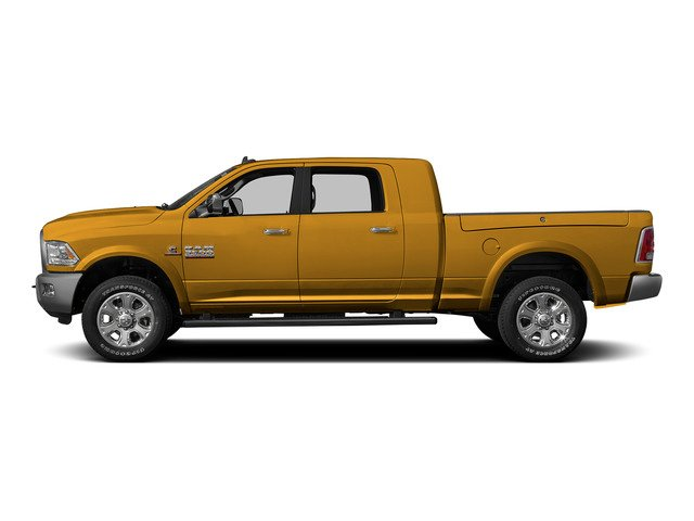 Construction Yellow 2015 Ram Truck 3500 Pictures 3500 Mega Cab SLT 4WD photos side view