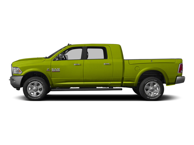 National Safety Yellow 2015 Ram Truck 3500 Pictures 3500 Mega Cab SLT 2WD photos side view