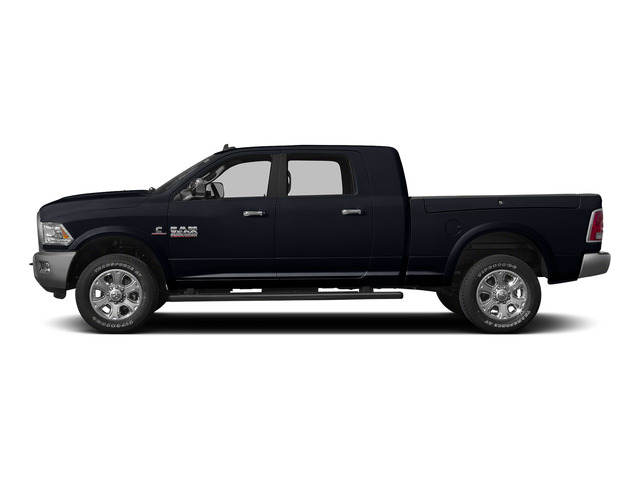Midnight Blue Pearlcoat 2015 Ram Truck 3500 Pictures 3500 Mega Cab SLT 4WD photos side view