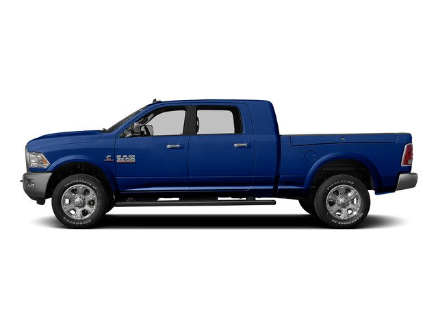 Blue Streak Pearlcoat 2015 Ram Truck 3500 Pictures 3500 Mega Cab SLT 2WD photos side view
