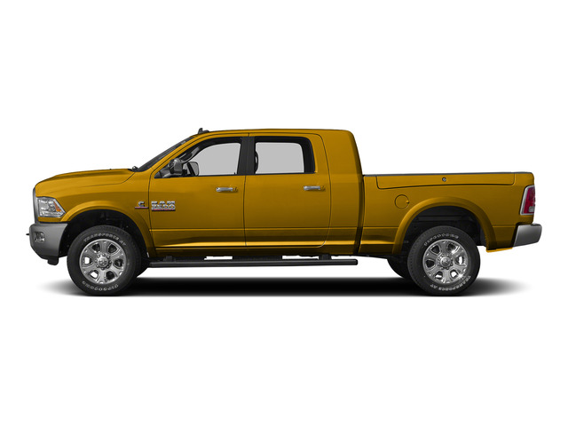 School Bus Yellow 2015 Ram Truck 3500 Pictures 3500 Mega Cab SLT 2WD photos side view