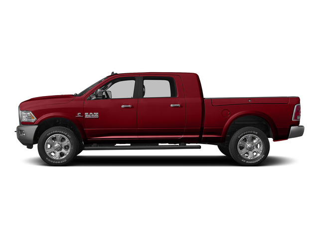 Flame Red Clearcoat 2015 Ram Truck 3500 Pictures 3500 Mega Cab Longhorn 4WD photos side view