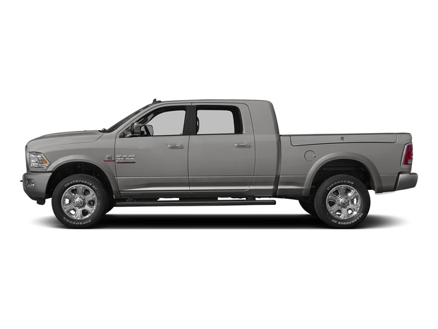 Bright Silver Metallic Clearcoat 2015 Ram Truck 3500 Pictures 3500 Mega Cab Limited 4WD photos side view