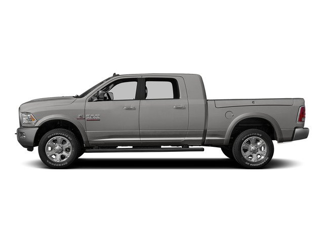 Bright Silver Metallic Clearcoat 2015 Ram Truck 3500 Pictures 3500 Mega Cab Longhorn 4WD photos side view