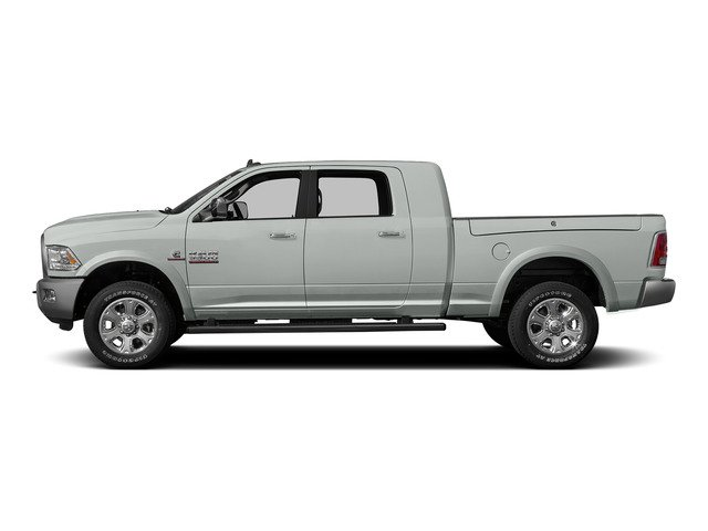 Bright White Clearcoat 2015 Ram Truck 3500 Pictures 3500 Mega Cab Longhorn 4WD photos side view