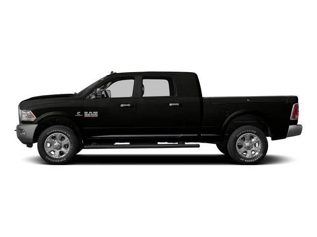 Black Clearcoat 2015 Ram Truck 3500 Pictures 3500 Mega Cab Limited 4WD photos side view