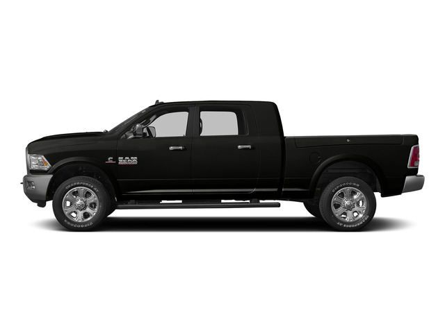 Brilliant Black Crystal Pearlcoat 2015 Ram Truck 3500 Pictures 3500 Mega Cab Longhorn 4WD photos side view
