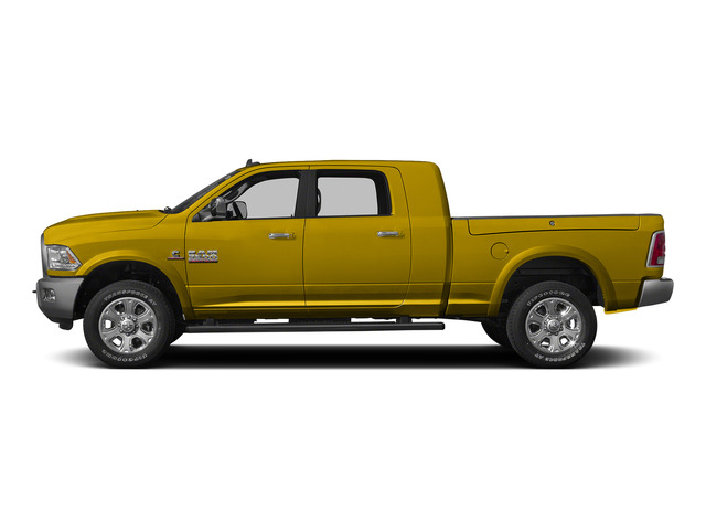 Detonator Yellow Clearcoat 2015 Ram Truck 3500 Pictures 3500 Mega Cab SLT 4WD photos side view