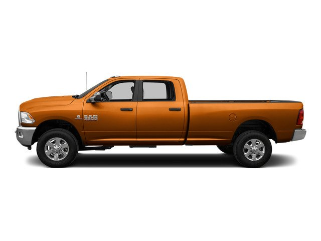 Omaha Orange 2015 Ram Truck 3500 Pictures 3500 Crew Cab SLT 2WD photos side view