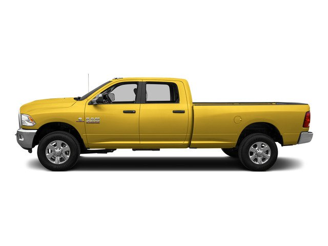 Yellow 2015 Ram Truck 3500 Pictures 3500 Crew Cab SLT 2WD photos side view