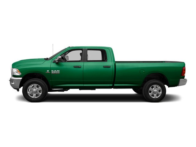 Bright Green 2015 Ram Truck 3500 Pictures 3500 Crew Cab SLT 2WD photos side view
