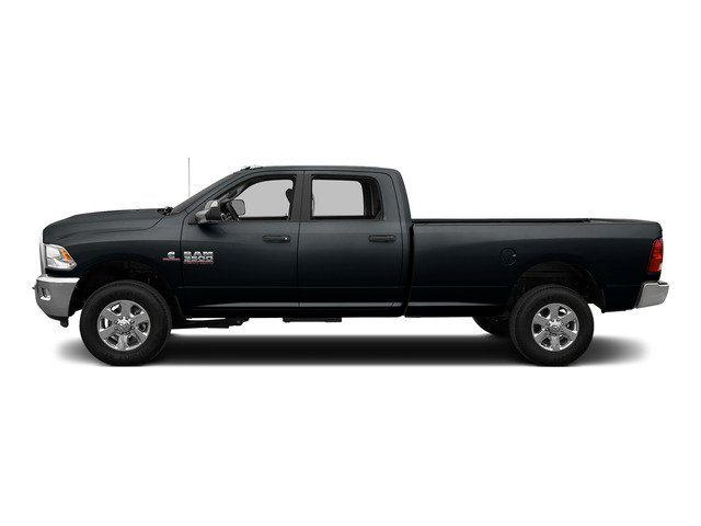 Maximum Steel Metallic Clearcoat 2015 Ram Truck 3500 Pictures 3500 Crew Cab SLT 2WD photos side view