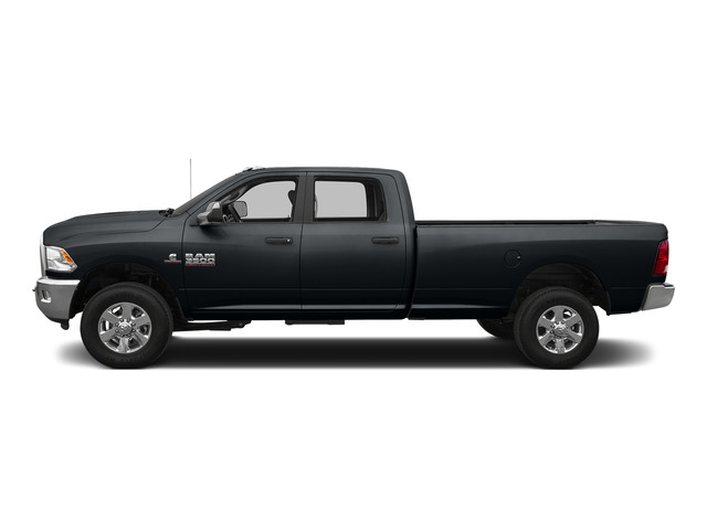 Maximum Steel Metallic Clearcoat 2015 Ram Truck 3500 Pictures 3500 Crew Cab Laramie 4WD photos side view