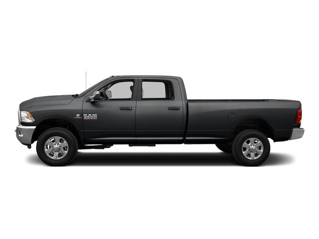 Granite Crystal Metallic Clearcoat 2015 Ram Truck 3500 Pictures 3500 Crew Cab Laramie 4WD photos side view