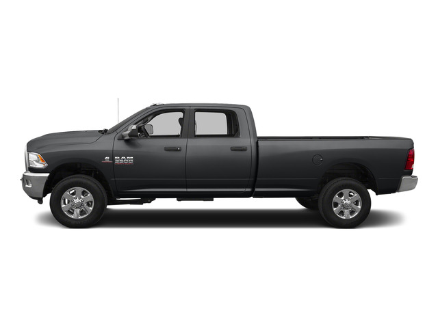 Granite Crystal Metallic Clearcoat 2015 Ram Truck 3500 Pictures 3500 Crew Cab SLT 2WD photos side view