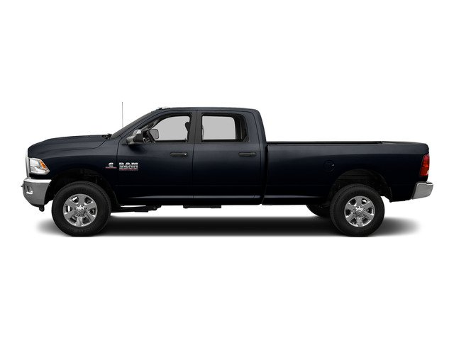 Midnight Blue Pearlcoat 2015 Ram Truck 3500 Pictures 3500 Crew Cab SLT 2WD photos side view