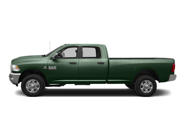 Timberline Green Pearlcoat 2015 Ram Truck 3500 Pictures 3500 Crew Cab SLT 2WD photos side view