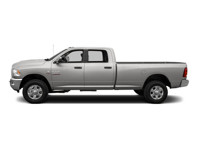 Bright Silver Metallic Clearcoat 2015 Ram Truck 3500 Pictures 3500 Crew Cab Laramie 4WD photos side view