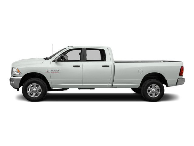 Bright White Clearcoat 2015 Ram Truck 3500 Pictures 3500 Crew Cab SLT 2WD photos side view