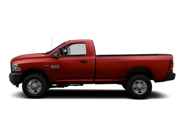 Bright Red 2015 Ram Truck 3500 Pictures 3500 Regular Cab Tradesman 2WD photos side view