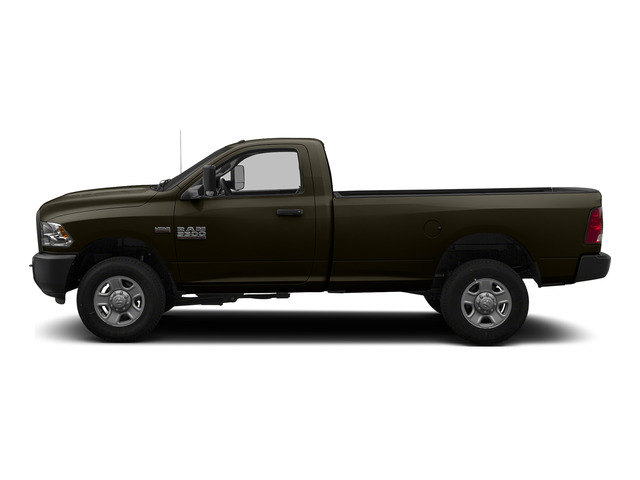 Dark Brown 2015 Ram Truck 3500 Pictures 3500 Regular Cab Tradesman 2WD photos side view