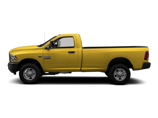 Yellow 2015 Ram Truck 3500 Pictures 3500 Regular Cab Tradesman 2WD photos side view