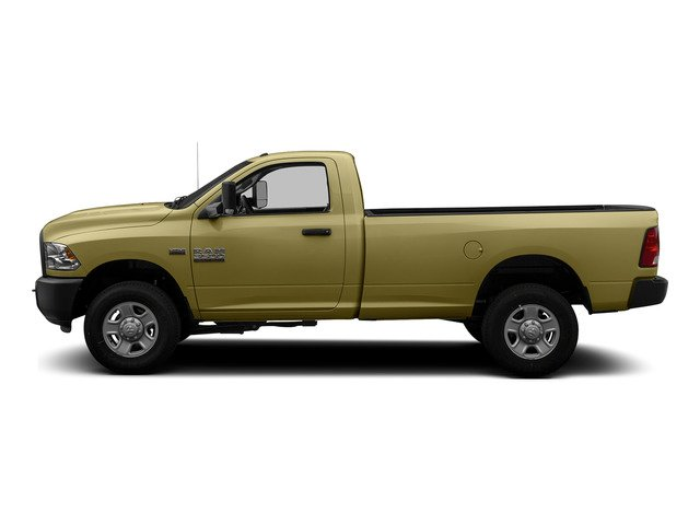 Light Cream 2015 Ram Truck 3500 Pictures 3500 Regular Cab Tradesman 2WD photos side view