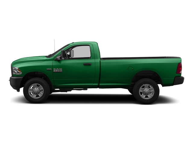Bright Green 2015 Ram Truck 3500 Pictures 3500 Regular Cab Tradesman 2WD photos side view