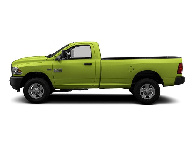 National Safety Yellow 2015 Ram Truck 3500 Pictures 3500 Regular Cab Tradesman 2WD photos side view