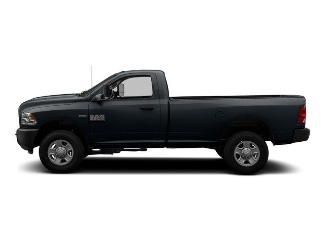 Maximum Steel Metallic Clearcoat 2015 Ram Truck 3500 Pictures 3500 Regular Cab Tradesman 2WD photos side view