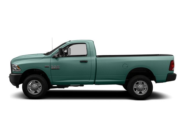 Light Green 2015 Ram Truck 3500 Pictures 3500 Regular Cab Tradesman 2WD photos side view